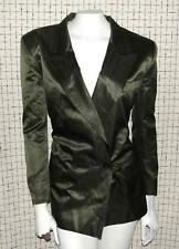 ESCADA~NEIMAN MARCUS~SHINNY SILK BLEND~COCKTAIL DRESSY ELEGANT BLAZER COAT~40