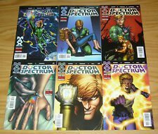 Doctor Spectrum #1-6 VF/NM complete series - squadron supreme power spin-off set