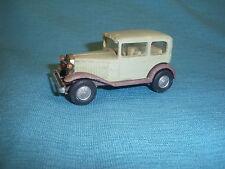 102B Antique Politoys Italy Plastique 106 Fiat Balilla 1932 gris 1:45