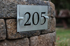 Modern House Numbers  **Aluminum & Acrylic**