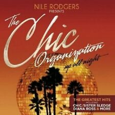 Nile rodgers pres. the Chic Organization: up All Night 2 CD international pop NEUF
