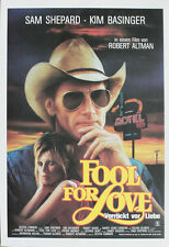 Fool for Love Verrückt vor Liebe Presseheft press book Sam Shepard, Kim Basinger