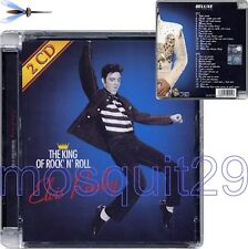 "ELVIS PRESLEY ""THE KING OF ROCK'N'ROLL - DELUXE COLLECTION"" RARE CD ITALY ONLY"