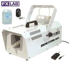 FXLab 1200W Snow Storm Maxi Artificial Snow Party Effects Machine & 5Litre Fluid