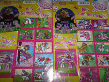 2 x Filly Witchy Sammel-sticker Multi-Pack/2 Tüten+ 60 Sticker + 2 Baby Witchy