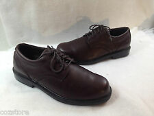 Nunn Bush Lace Up Oxford Shoes Dress Casual Work Brown Leather 9.5 M