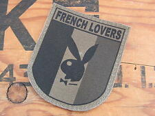 "SNAKE PATCH -  FRANCE OPEX "" FRENCH LOVERS "" AIR isaf TAP OD basse visibilité"