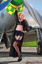 Wings of Angels Michael Malak Giclee Pin Up Alexa 1 WWII P-51D Mustang