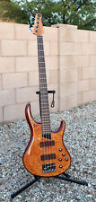 Michael Tobias MTD Kingston Z4 4 String Bass in Burled Maple GLOSS - Near MINT!!