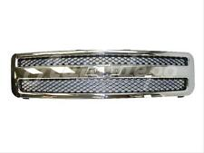 Grille Chrome/Black For 2007-2013 Silverado 1500 New Style