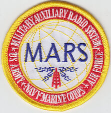 MARS Miltary Auxiliary Radio System patch ARMY/NAVY/MARINE CORPS/AIR FORCE US