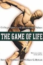 The Game of Life College Sports and Educational Values (2002) SC