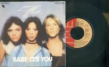 PROMISES -BABY IT'S YOU -WHAT'S A GIRL TO DO- DISCO VINILE -ANNO 1978