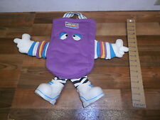 vintage Dooffles 1988 Peter G Blank  kids toy bag figure, COOL!