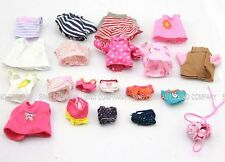 20 x Dresses Clothes For Sylvanian Families Calico Critter Doll Figure Toys M697