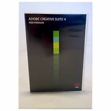 Adobe Creative Suite CS4 Web Premium-MAC-Photoshop,Illustrator