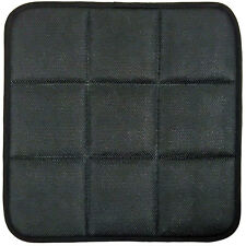 BLACK BAMBOO CHARCOAL BREATHABLE SEAT CUSHION COVER PAD MAT FOR CAR OFFICE CHAIR