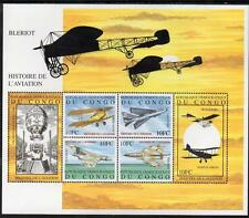 Congo MNH 2001 Aviation History M/S