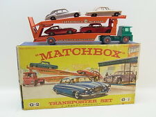 Lot 40447 | MATCHBOX GIFTSET g-2 CAR TRANSPORTER Set 5 pezzi con le auto in BOX