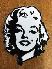 NEW Marilyn Monroe embroidered iron on patch. (2.75 x 3.25 inch)