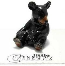 Little Critterz HONEY - BLACK BEAR CUB LC153 Hand Painted Figurine FREE SHIP