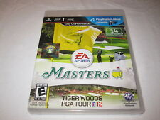 Tiger Woods PGA Tour 12: The Masters (Playstation PS3) Complete Nr Mint!