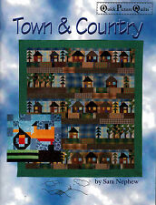 Town & Country Quilts New Block Styles & Designs Quilting Pattern Book