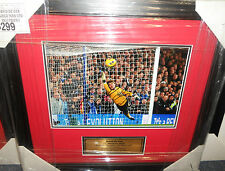 DAVID DE GEA SIGNED 8x12 MANCHESTER UNITED PHOTO FRAMED + PHOTO PROOF & C.O.A