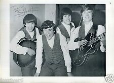 THE ESCORTS Signed Photograph - The Cavern Club, Liverpool 1960s - Beatles