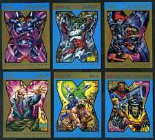 X-Men X-Cutioner's Song Cards Lot (Marvel Comics)