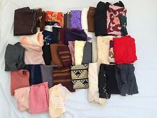 1.9KG Job lot of vintage Japanese fabric scraps, silk, wool, cotton etc. (B692)