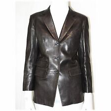 GUCCI Limited Edition Womens Designer Leather Jacket Size UK 10 ITA 42 RRP £2750
