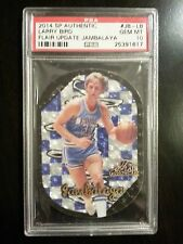 Larry Bird 2014 SP Authentic Flair Update SP Jambalaya Card PSA 10 GEM MINT