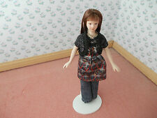 MODERN LADY FOR A DOLLS HOUSE