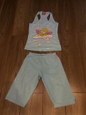 Girls Baby Blue Size XS Simpsons Pyjamas