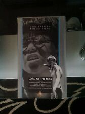 Lord of the flies vhs video black and white