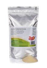 500g gélatine powder-bloom 280 professionnel force de qualité alimentaire épaississant