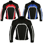Men's Motorbike Motorcycle Waterproof Racing Cordura Armour Textile Jackets 2289