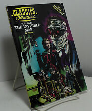 The Invisible Man by H G Wells - Classics Illustrated reprint