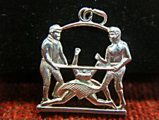 THE LIMBO - HOW LOW CAN YOU GO?  STERLING SILVER  CHARM - NICE