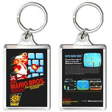 SUPER MARIO BROS 1 NES KEYRING LLAVERO