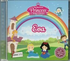 EVA - THE BEST EVER PRINCESS SONGS & STORIES PERSONALISED CHILDREN'S CD