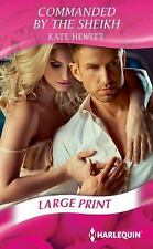 Commanded by the Sheikh (Harlequin Presents)-ExLibrary