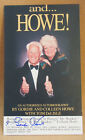 GORDIE HOWE SIGNED Autographed Authentic Book mark Insert RED WINGS MR. Hockey