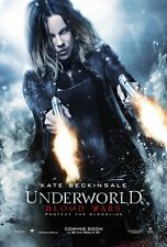 POSTER UNDERWORLD BLOOD WARS 2 3 4 5 KATE BECKINSALE THEO JAMES LOCANDINA #7