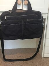 GREAT LIEBESKIND BERLIN BLACK LARGE HOLDALL/LAPTOP BAG USED GOOD CONDITION