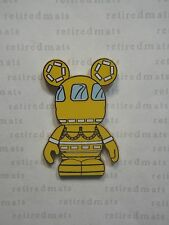AUTHENTIC Disney Vinylmation Park #6 CRUISE LINE SHIP'S LIFEBOAT Yellow Boat Pin