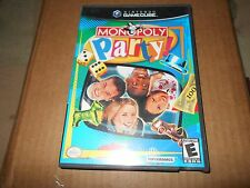 USED MONOPOLY PARTY (Nintendo GameCube, 2002) HAS BOOK DISK GREAT SHAPE