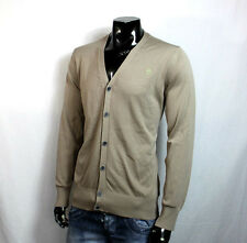 G-STAR RAW FLOW JACKE CARDIGAN STRICKJACKE XL BEIGE HOODIE NEU WINTER