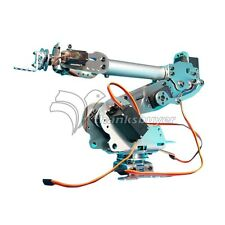 6DOF Mechanical Robot Arm Claw with Servos for Robotics Arduino DIY Kit